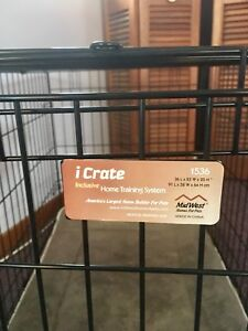 Dog Crate and Pad