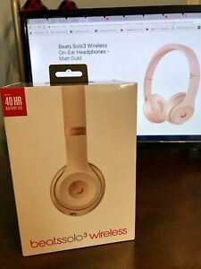 For Sale: NEW Beats Solo 3 - Matte Gold (Unopened)