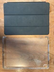 iPad Pro 12.9 Apple brand Smart Cover and hard rear case