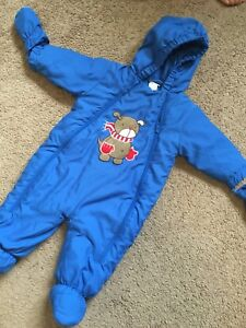 Boy snow suit 6m