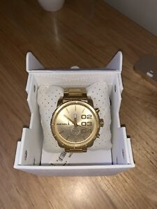 Men's Gold DIESEL watch