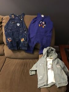 Baby boy clothes (6 months)