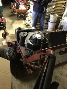 Used commercial Ferris mower