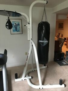 Punching bag with stand and speed ball - Century
