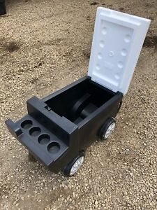 Zamboni styled beer cooler