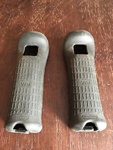 Wii controller grips