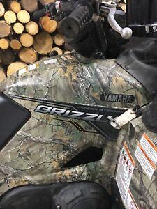 2018 Yamaha grizzly  700