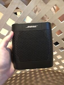 Bose Bluetooth Soundlink speaker