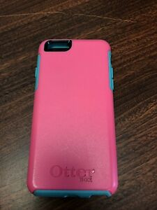 Pink Otter box symmetry for iPhone 6/6s