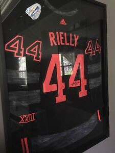 Morgan Rielly signed and framed jersey