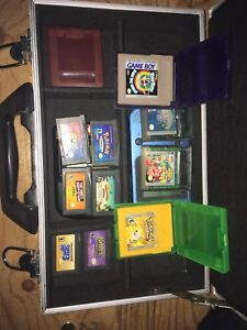 Game boy and games