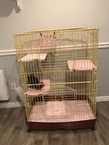 Cage pour petit animal / for small animal NÉGOCIABLE