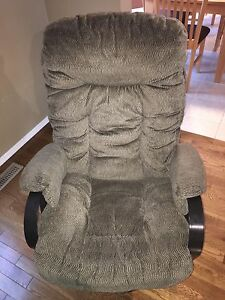 Glider Recliner Chair & Footrest