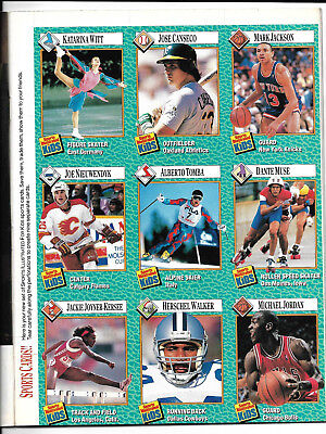 Rare SI for Kids 2/89 MICHAEL JORDAN Rookie-Wayne Gretzky Cover Sheet w/Magazine