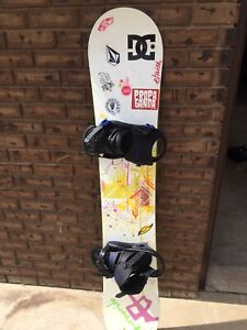 Snowboard + boots