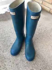 Hunter Boots- size 7