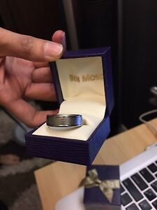 ben moss rings local deals on jewelry watches in toronto gta ben moss 7mm titanium band for men
