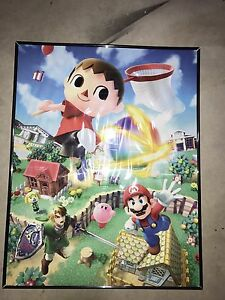 Club Nintendo Super Smash Bros Posters