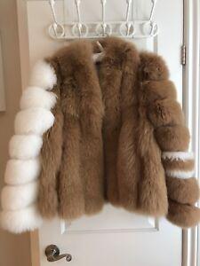 PRICE DROP!!! Fox fur coat!