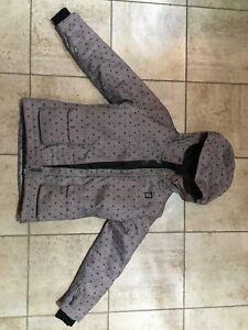 Manteau d'hiver Orage pour fille