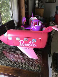 barbie plane