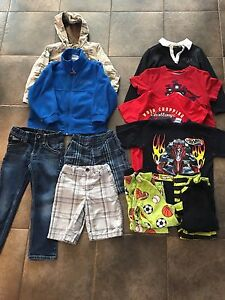Boys Brand Name Clothes Size 4T
