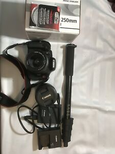 Canon T3i digital camera and accessories