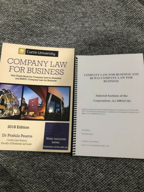 Company Law for Business and Corporations act 2018 edition