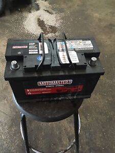 Motomaster battery vented