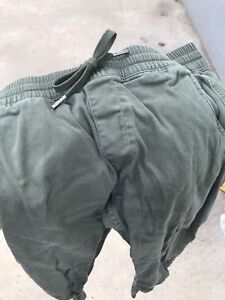 Army Green Fairplay Joggers (size 32)