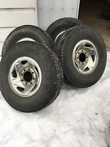 Dodge Ram rim chrome origin 2500 et tire d'ete