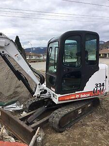 2007 Bobcat 334 excavator