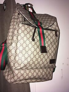Gucci backpack 100% authentic with receipt and tag
