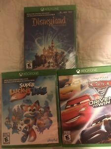 Xbox One Games (3 games 25 each or 60 for all)