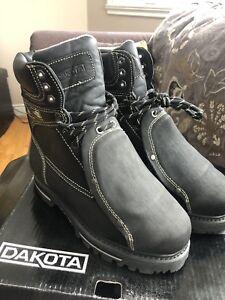 "Dakota Guard 8"" STSP work boot  7.5"