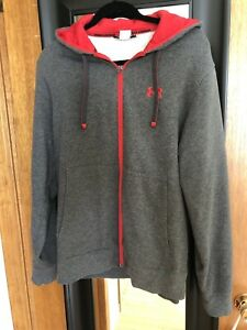 Under Armour Men's Medium Zip Up Hoodie Sweater
