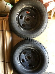 265/70 R17  4 Rims and tires