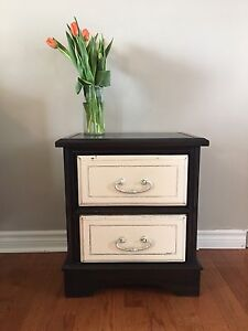 Rustic Chic Side Tables