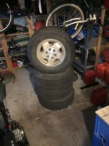 16 inch Snow Tires with Rims