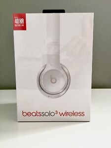 Brand New Sealed Beats Solo 3 Wireless Headphones - Gloss White