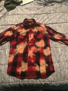 Supreme Red Buffalo Heavyweight Bleached Flannel