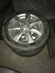205/55/16 mazda 3 rims and tires