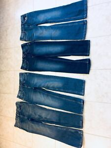 Boy youth size 12 Silver jeans; 5 pairs