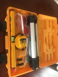Johnson Level and Tools laser level kit