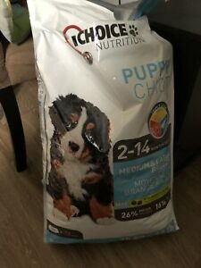 First choice medium to large dog puppy food