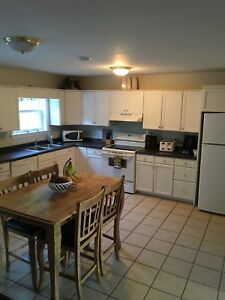 Furnished 3 Bedroom 1/2 Duplex for rent
