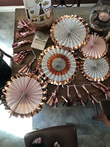Rose gold decoration-$25