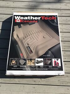 Ram WeatherTech winter matts Black tapis hiver