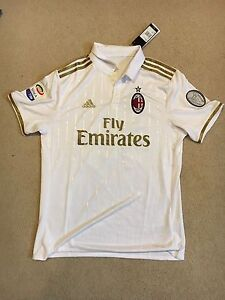 AC Milan away soccer jersey (new with tags)