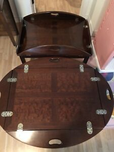 2 Tables basse Anglaise 1930 de Collection